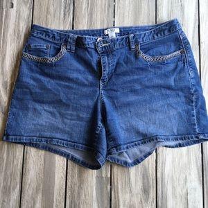 Cato Blue Jean Shorts